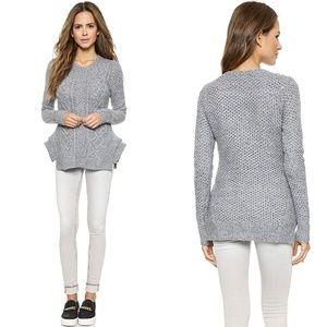 Stylestalker shopbop kyanite sweater cable knit